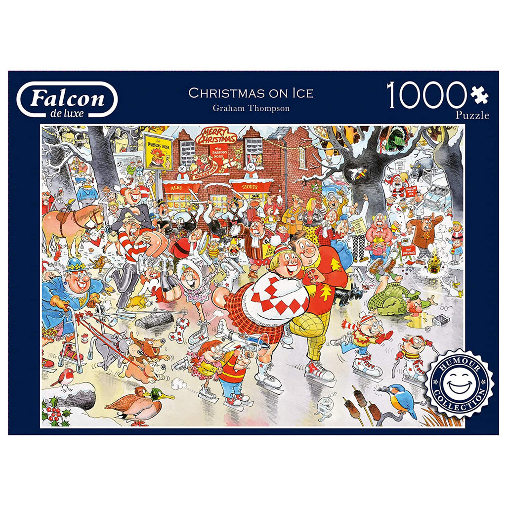 Christmas On Ice 1000 Piece Puzzle