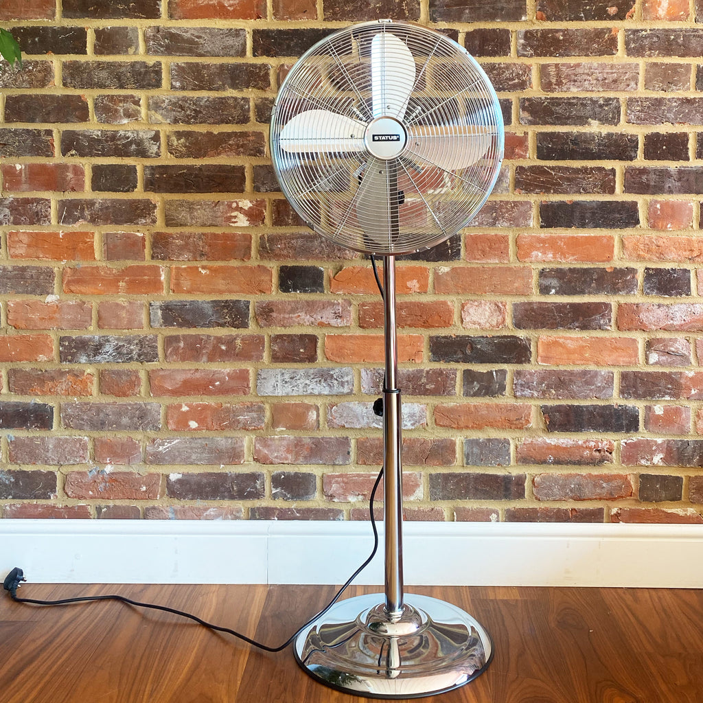 "Status 16"" Chrome Stand Fan"