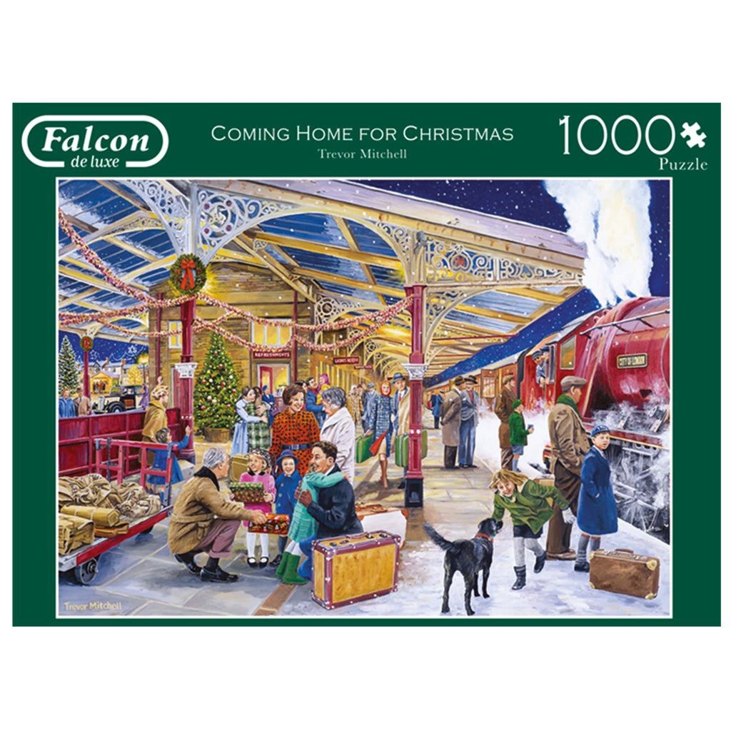 Coming Home For Christmas 1000 Piece Puzzle