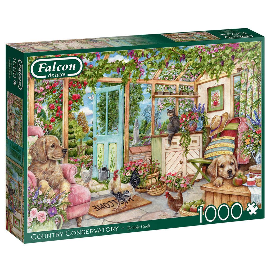 Country Conservatory 1000 Piece Puzzle