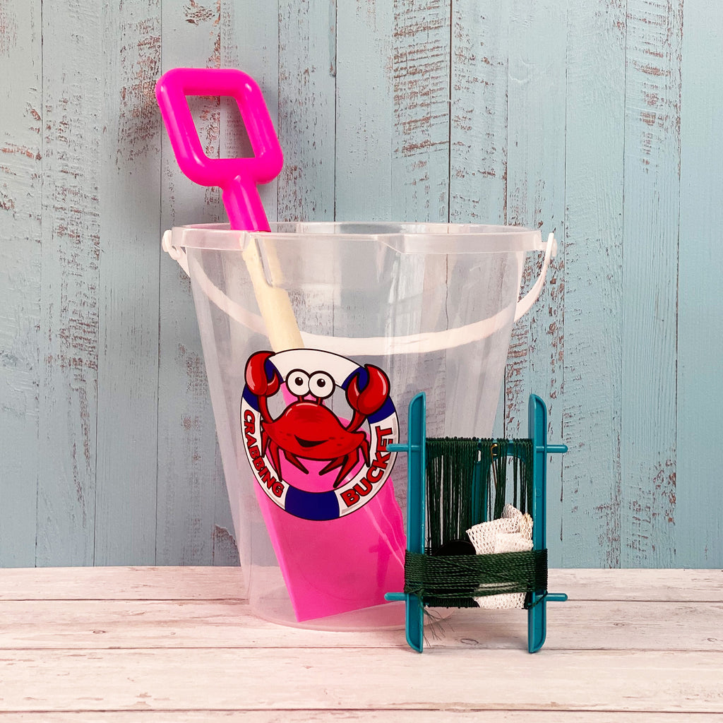 "9"" Transparent Crab Bucket"
