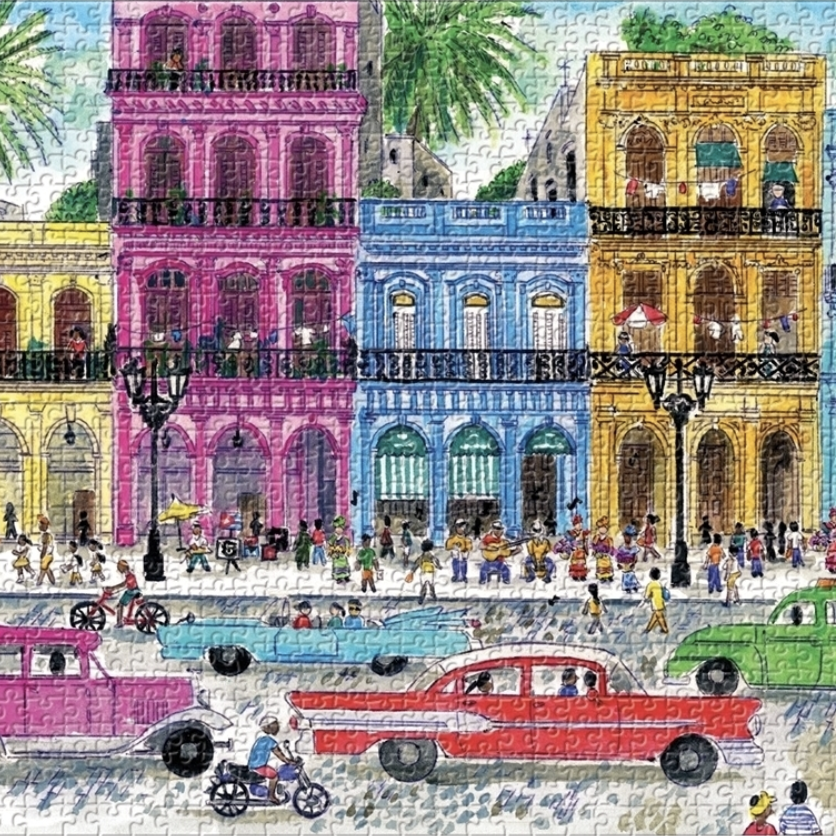 Michael Storrings Cuba - 1000 Piece Puzzle