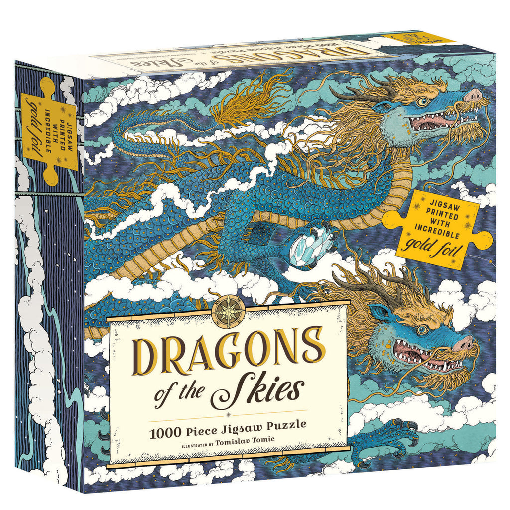 Dragons Of The Skies - 1000 Piece Puzzle