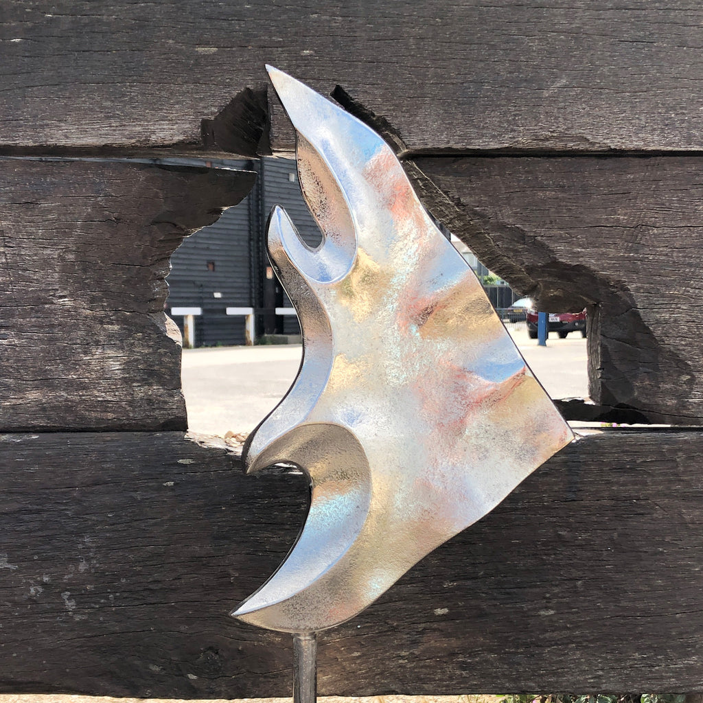 Large Silver Fish Decoration