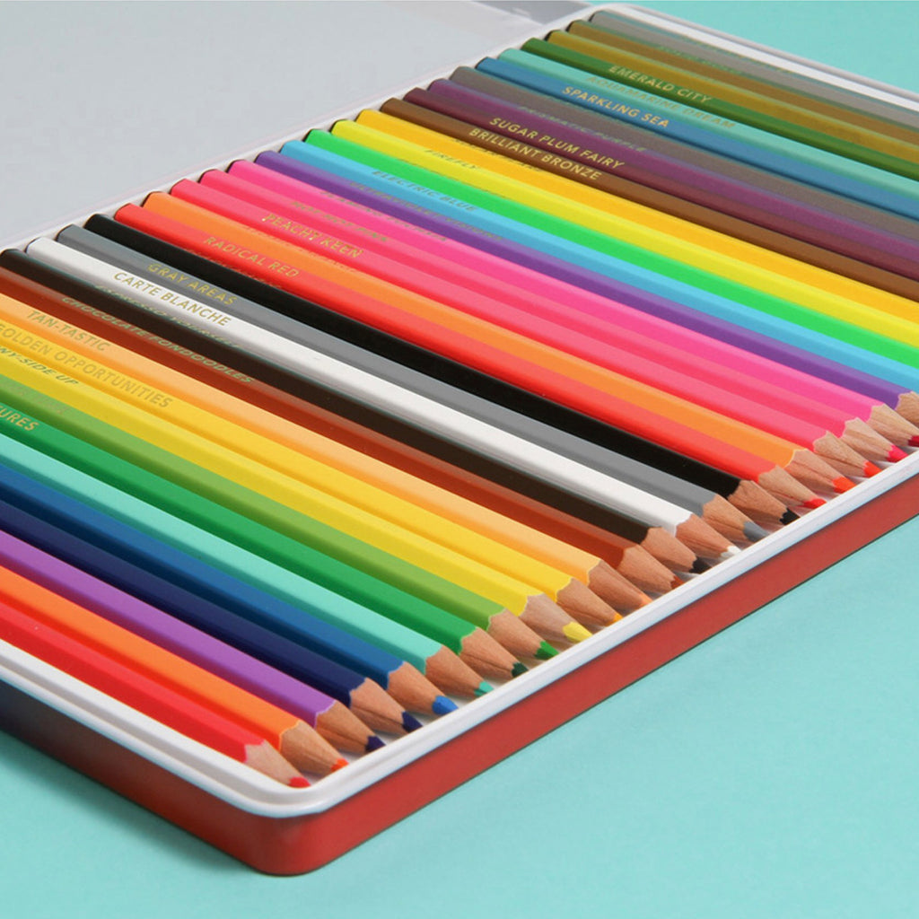 Deluxe Bright Ideas Coloured Pencils