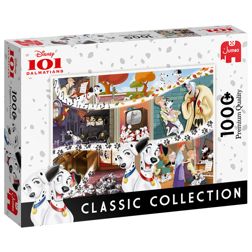 Disney Classic Collection 101 Dalmations - 1000 Piece Puzzle