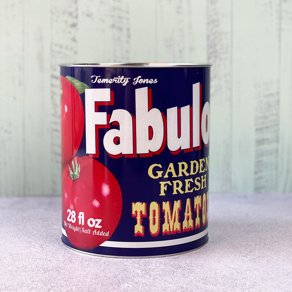 Giant Fabulous Tomatoes Storage Tin