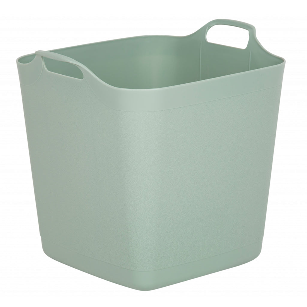 Flexi-Store 40L Graduated Square Tub Silver Sage