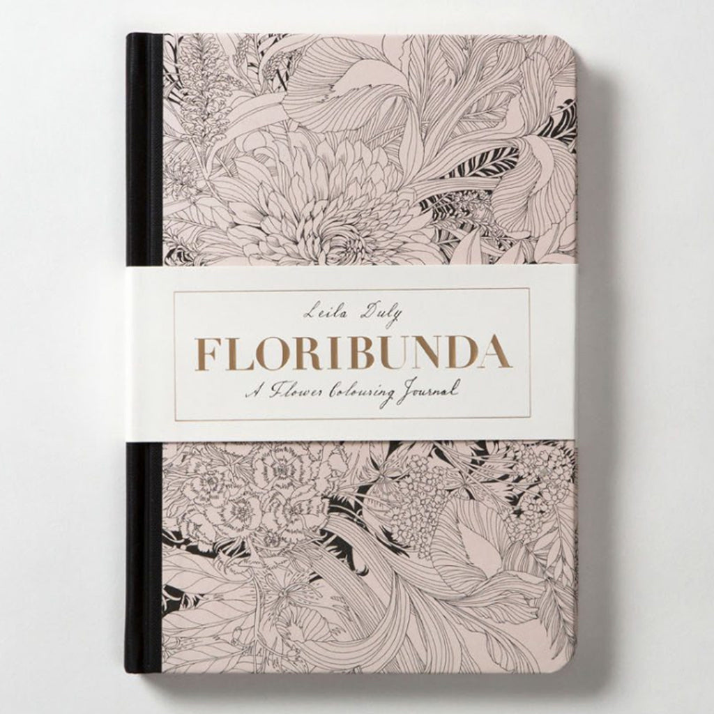 Floribunda - A Flower Colouring Journal