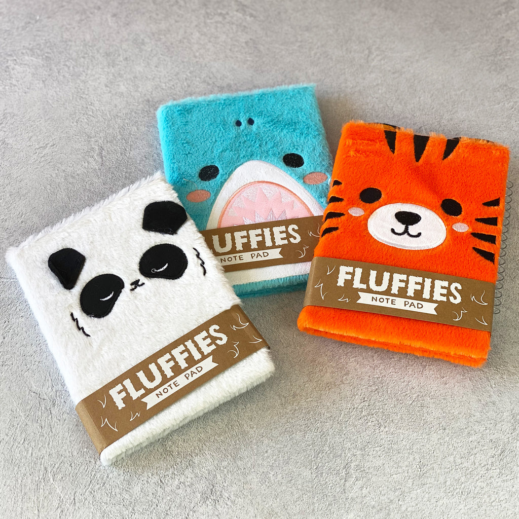 Panda Fluffies Notepad