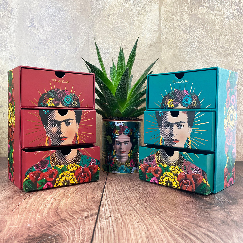 Frida Kahlo 3 Drawer Chest