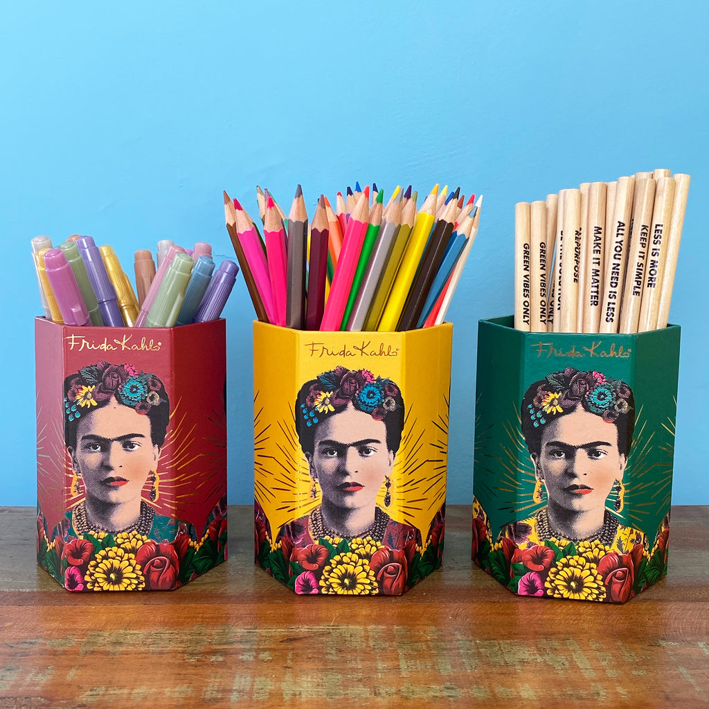 Frida Kahlo Pen Pot