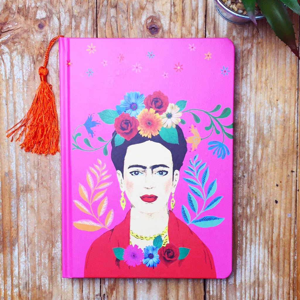 Frida Kahlo Hardback A5 Notebook