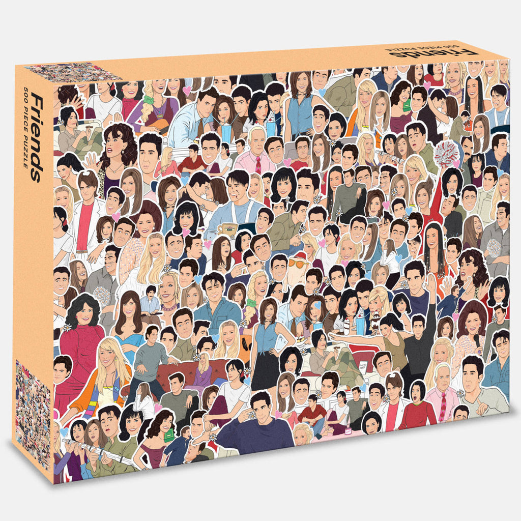 Friends - 500 Piece Puzzle
