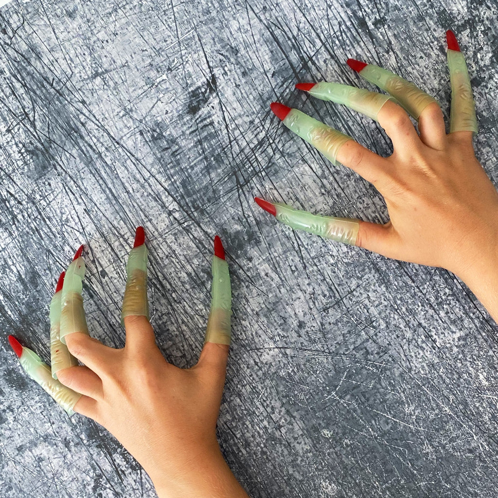 Halloween Glow In The Dark Witches Fingers