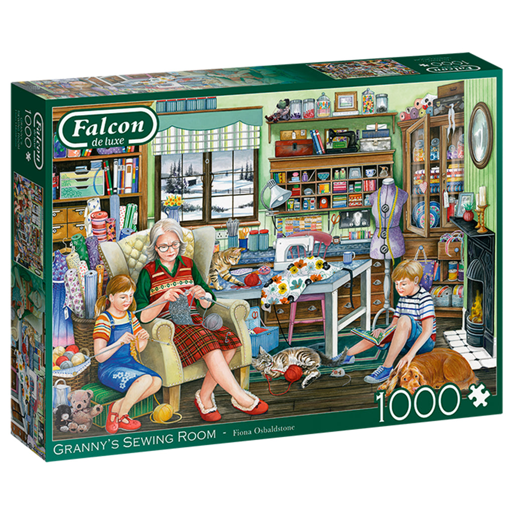 Granny's Sewing Room 1000 Piece Puzzle