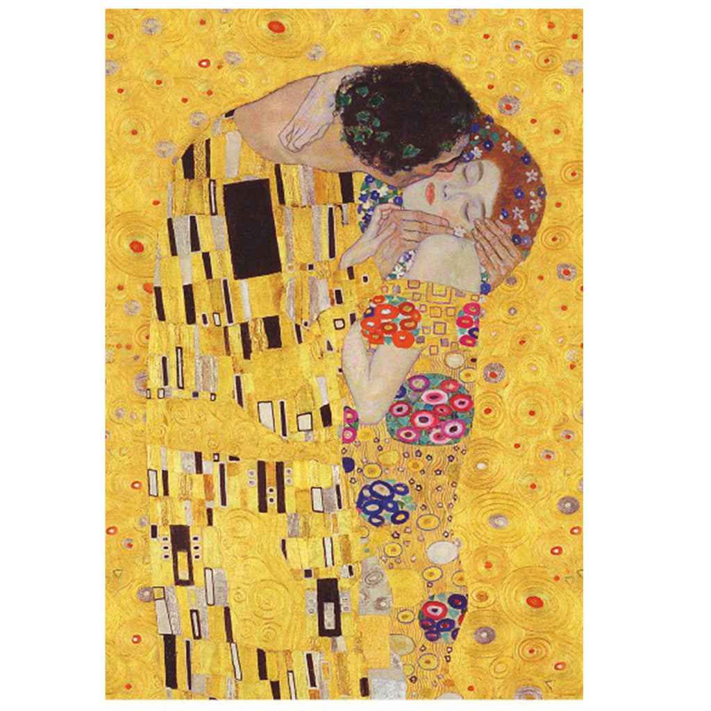 The Kiss, Gustav Klimt - 1000 Piece Puzzle