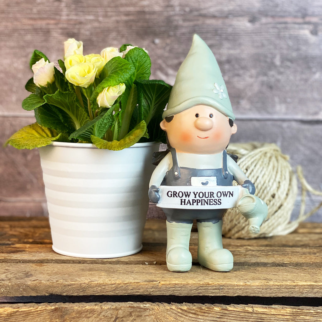 Potting Shed Gnome - Happiness