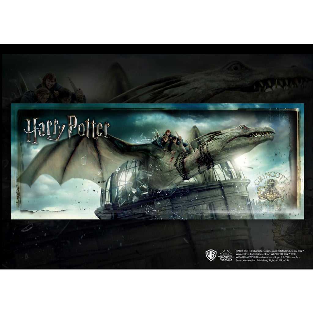 Gringotts Bank Escape - Harry Potter 1000 Piece Puzzle