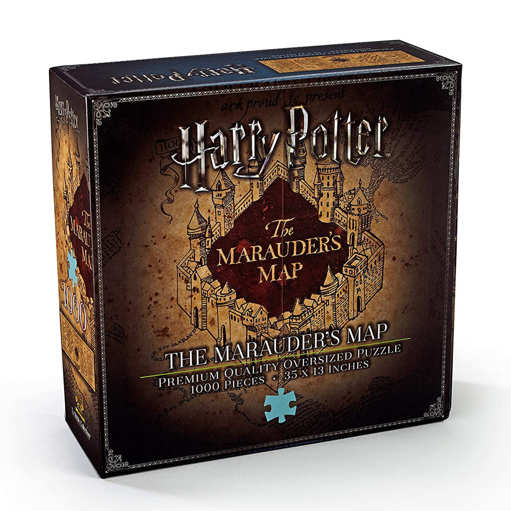 Marauders Map - Harry Potter 1000 Piece Puzzle