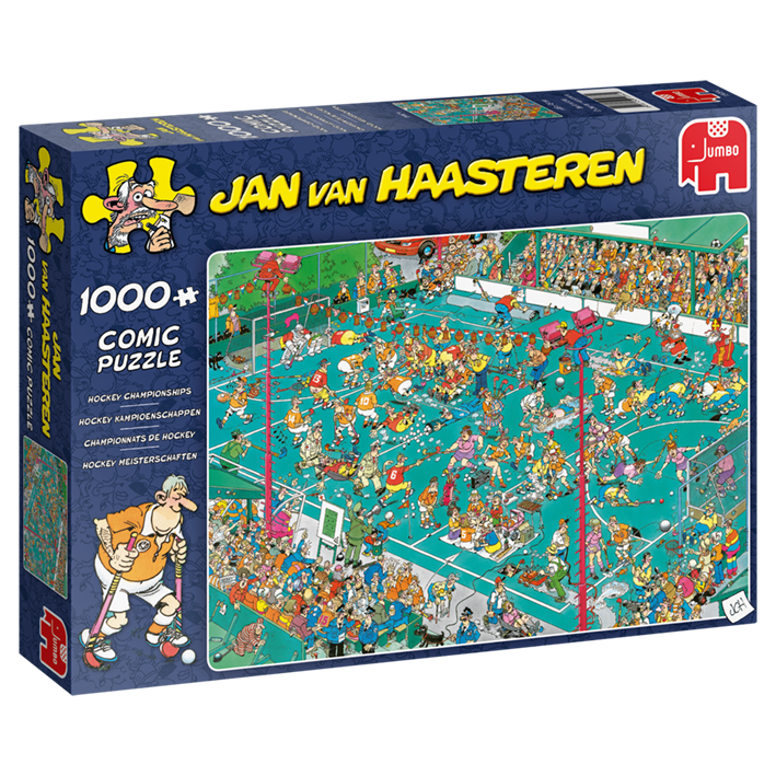 Hockey Championships - 1000 Piece Puzzle