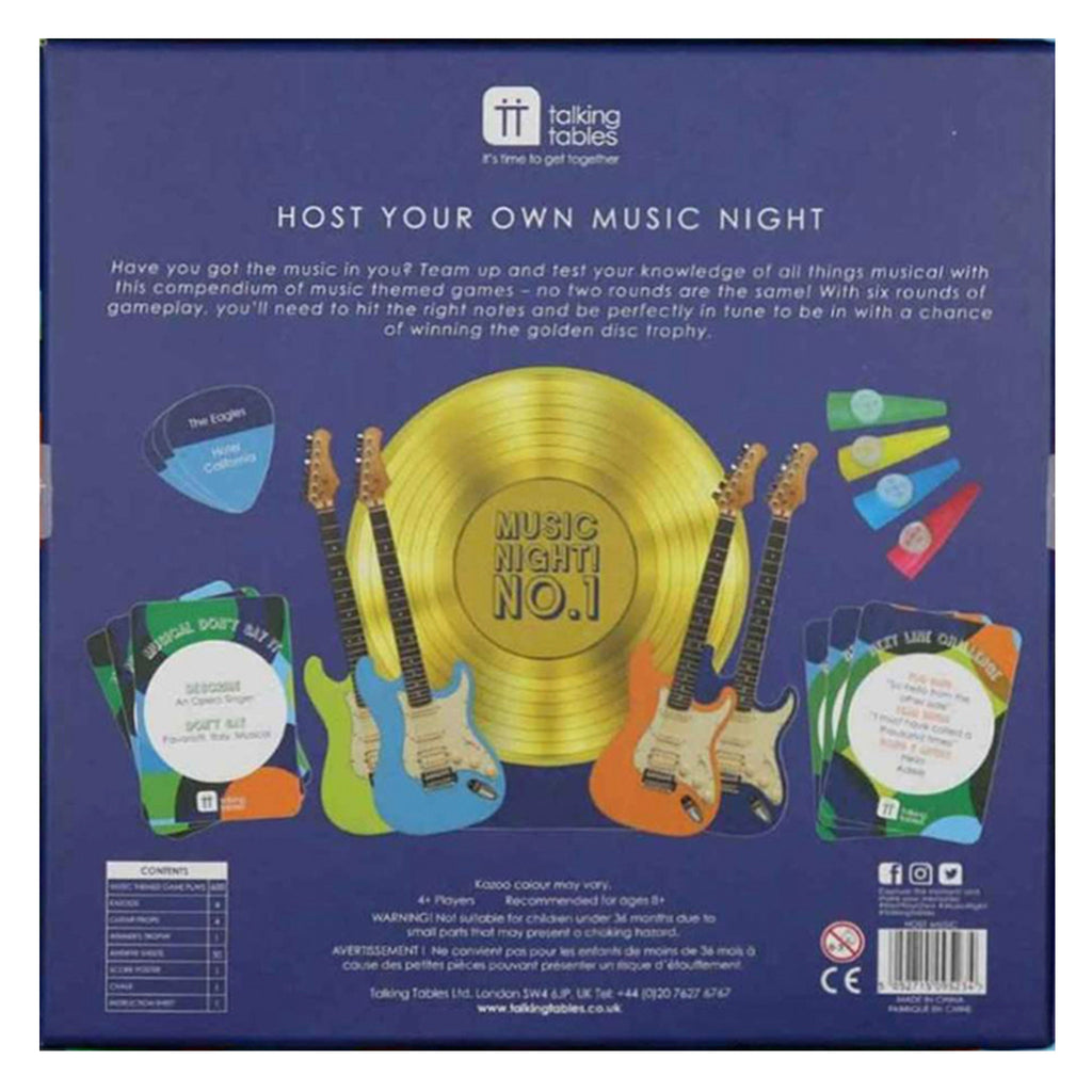 Host Your Own Music Night In