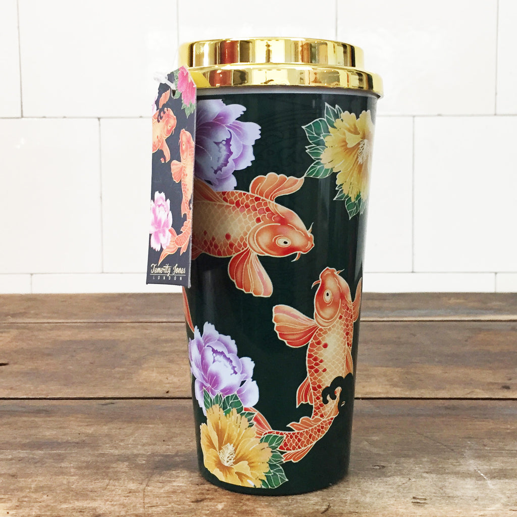 Koi Carp Travel Mug