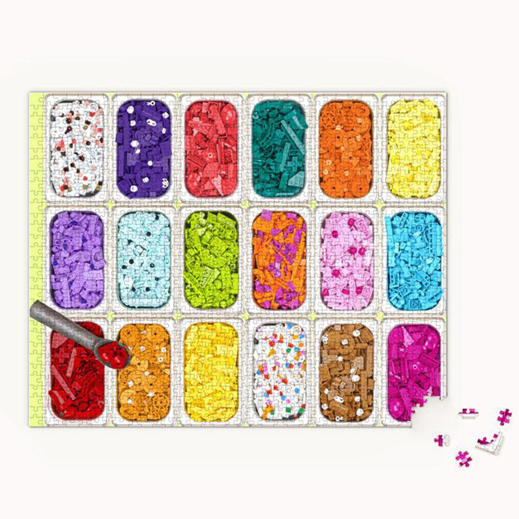 LEGO Ice Cream Dream Puzzle 1000 Piece Puzzle