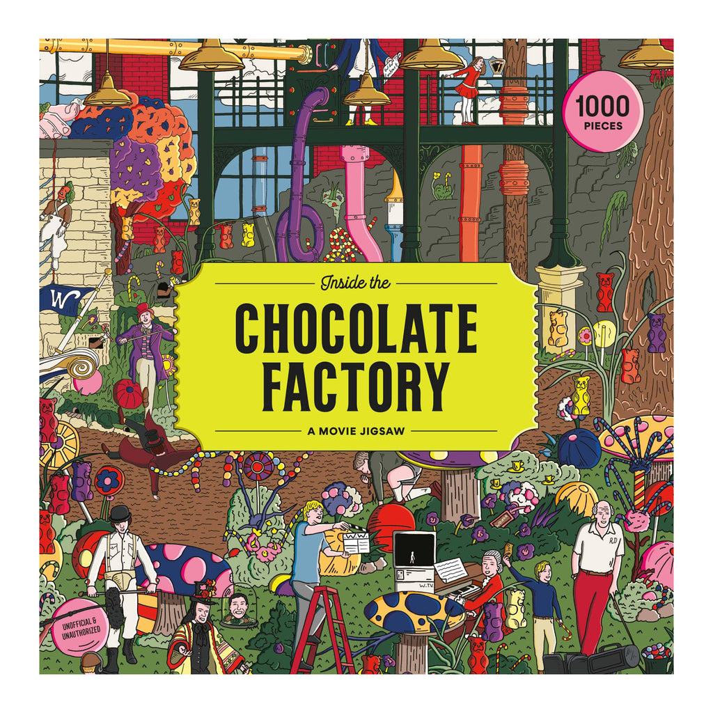 Inside The Chocolate Factory - 1000 Piece Puzzle