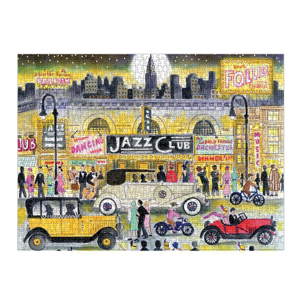 Michael Storrings Jazz Cafe - 1000 Piece Puzzle