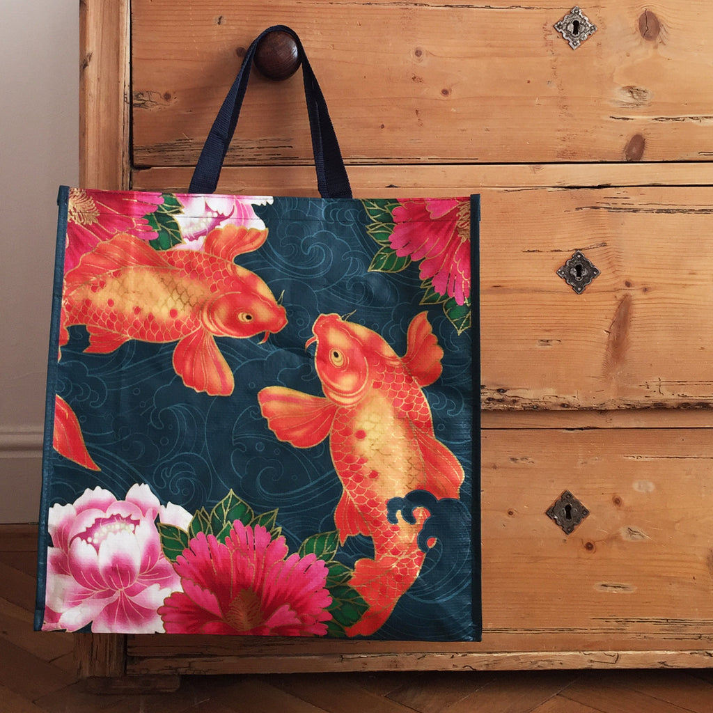 Koi Carp Large Shopper Bag