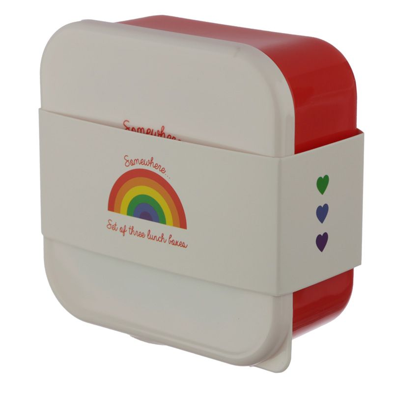 Lunch Boxes Rainbow Design