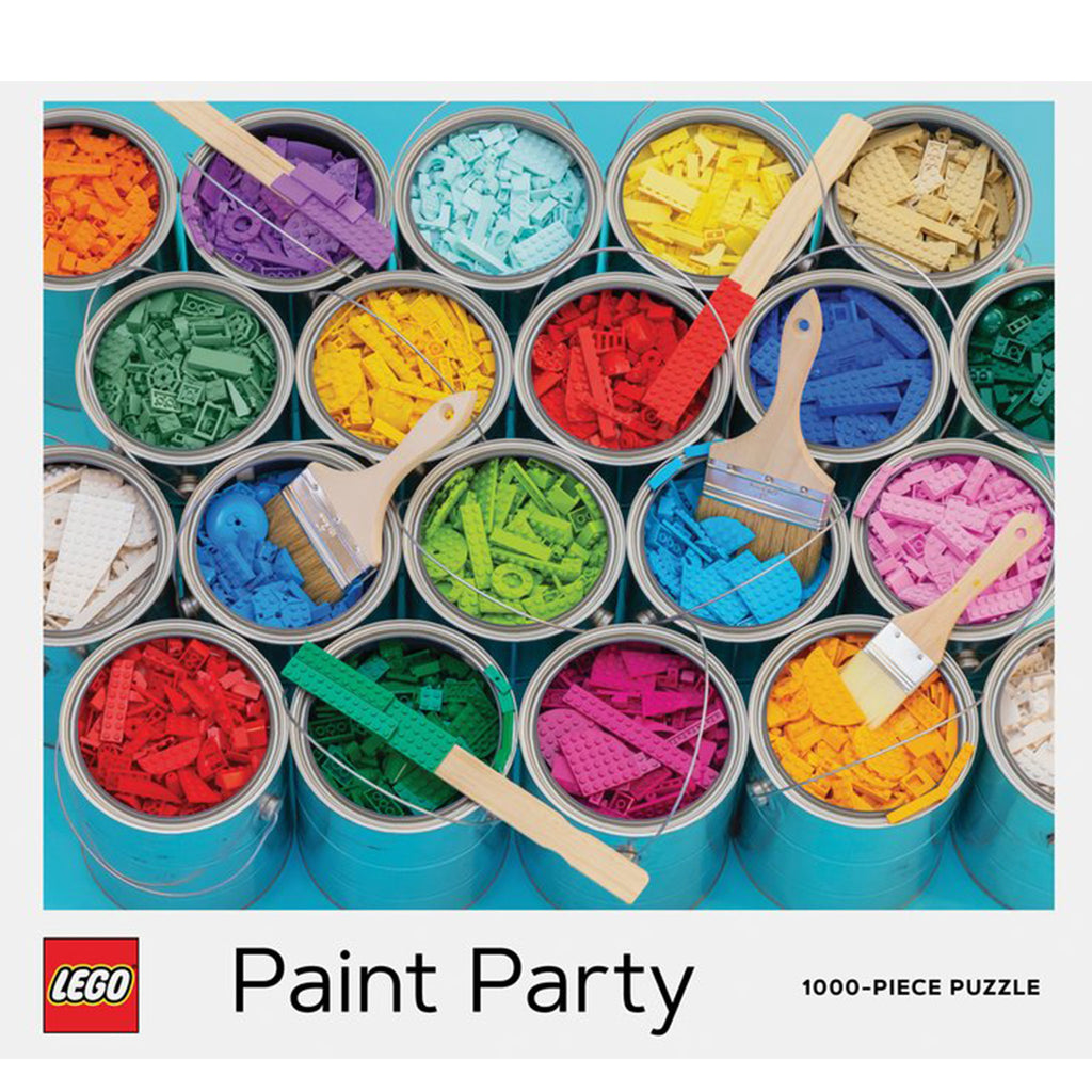 LEGO Paint Party - 1000 Piece Puzzle