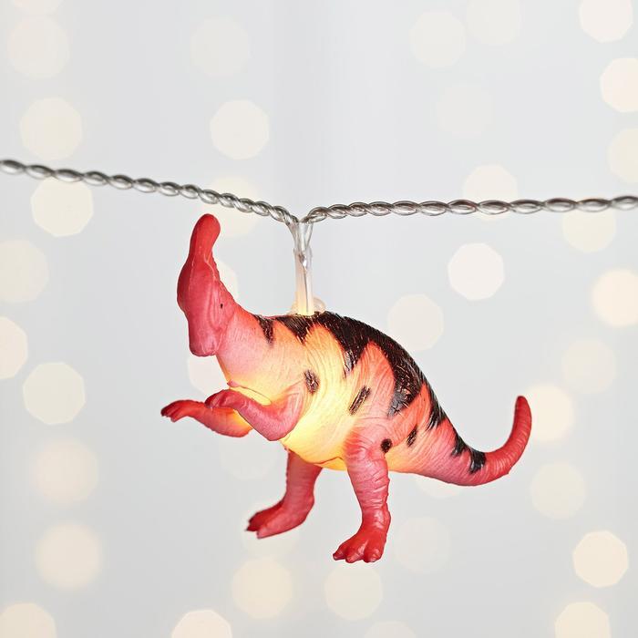 10 LED Dinosaur Fairy Lights