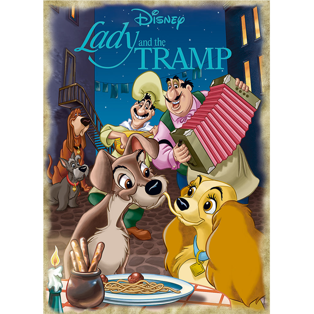 Disney Classic Collection Lady & The Tramp - 1000 Piece Puzzle