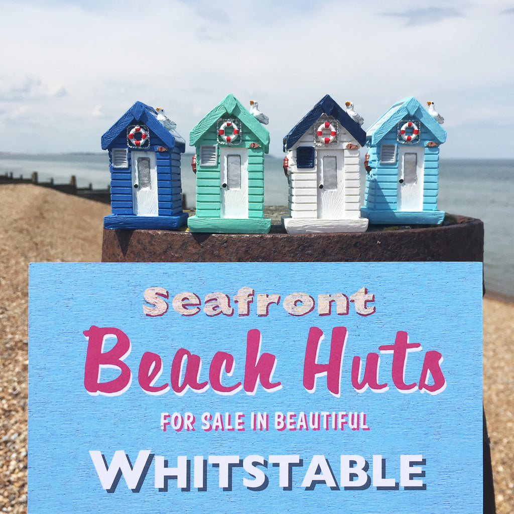 Resin Beach Huts