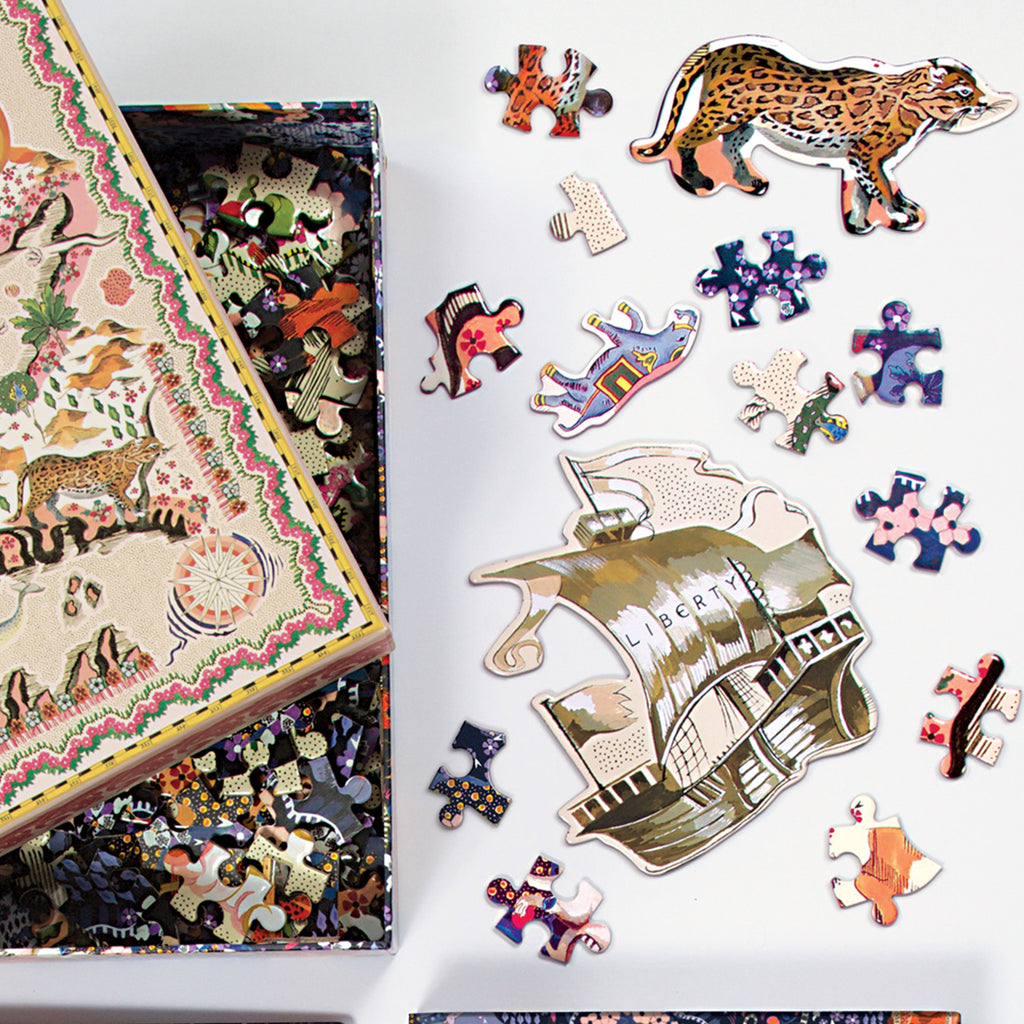 Liberty London Maxine 500 Piece Double Puzzle
