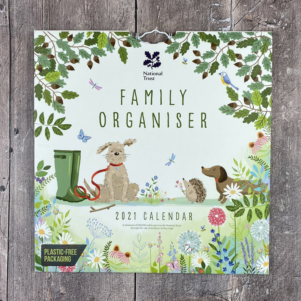 National Trust Family Organiser 2021 - week to view