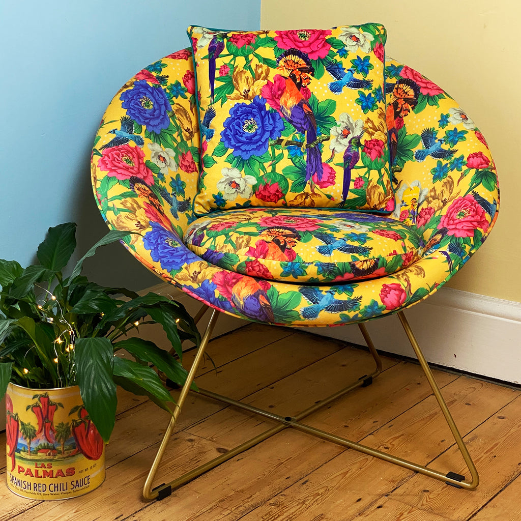 Mexican Floral chair
