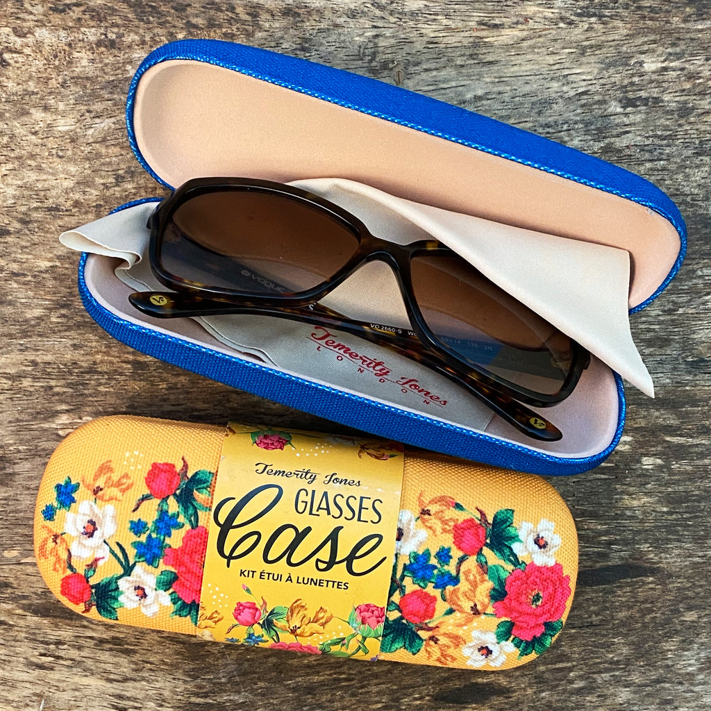 Mexican Floral Glasses Case
