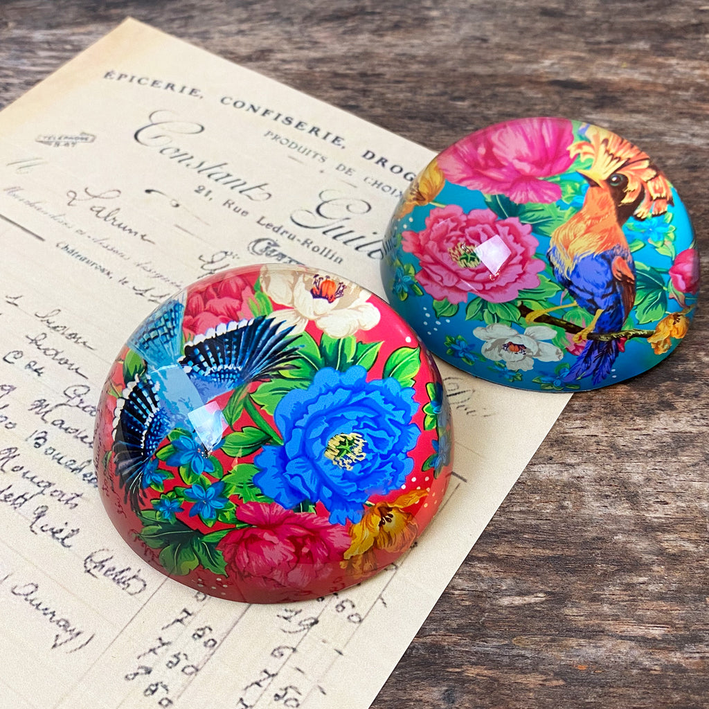 Mexican Floral Paperweight