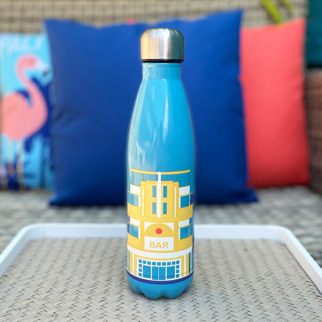 South Beach Metal Water Bottle