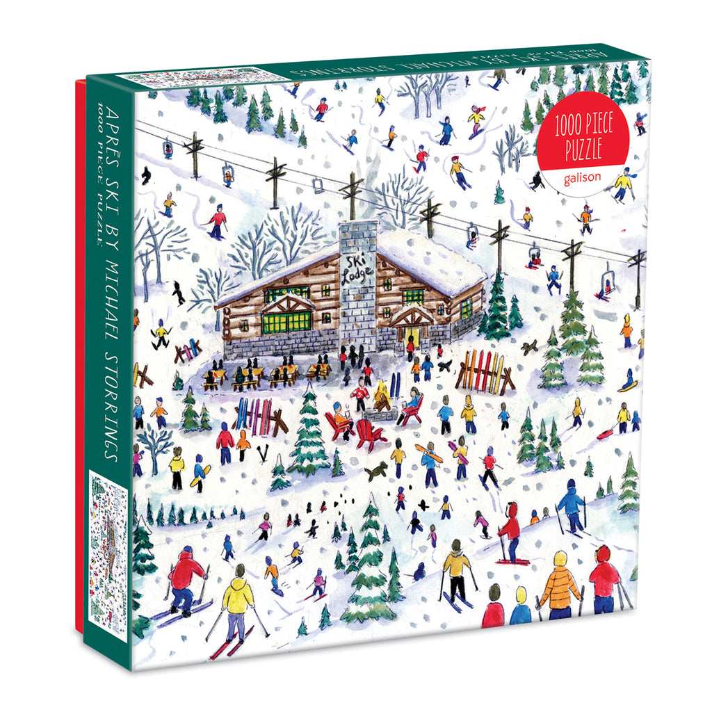 Michael Storrings Apres Ski 1000 Piece Puzzle