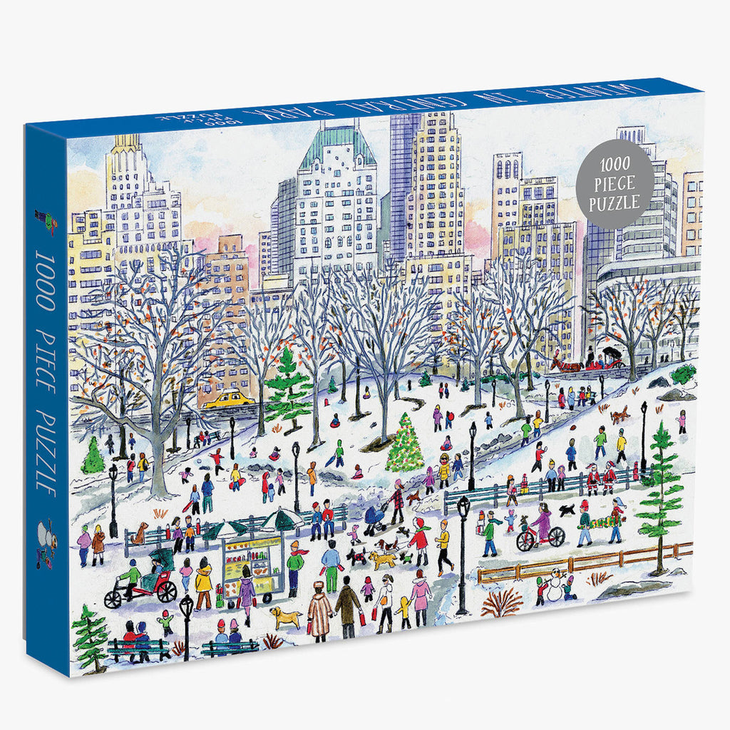Michael Storrings Winter In Central Park - 1000 Piece Puzzle