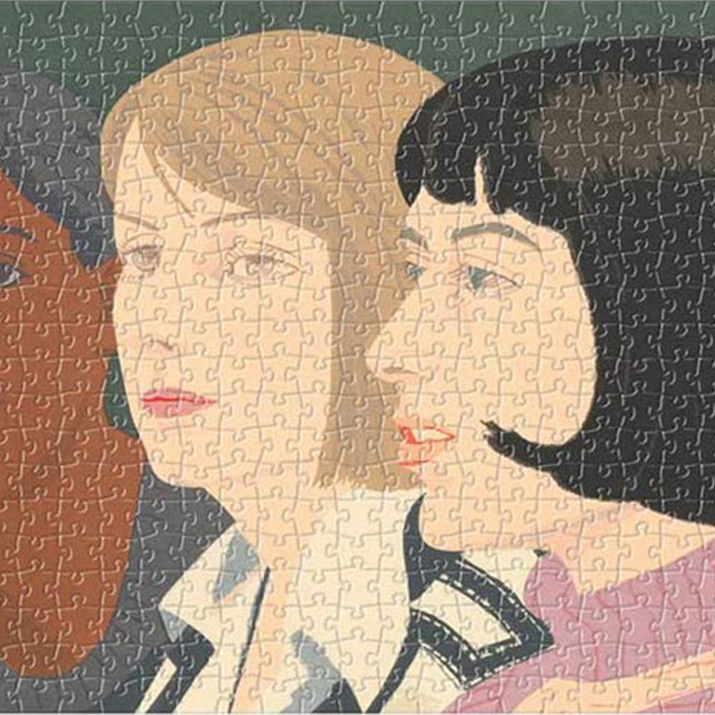 MoMA Alex Katz - Five Women Panoramic Puzzle