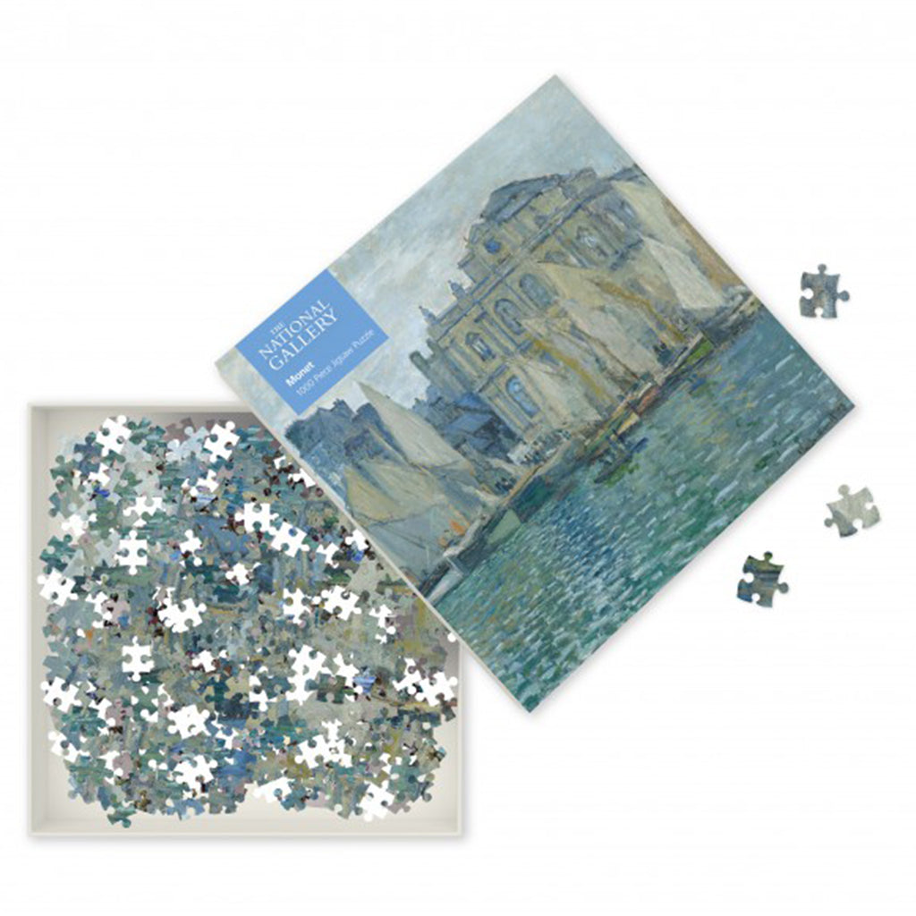 The Museum at Le Havre, Monet 1000 Piece Puzzle
