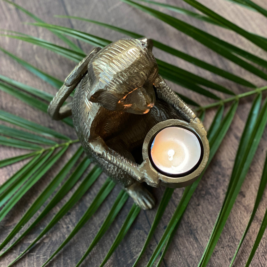 Monkey Tealight Holder