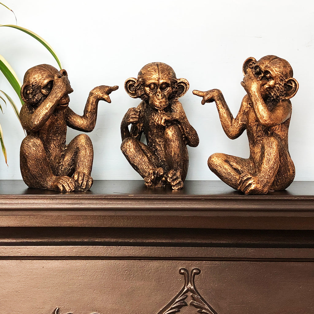 See, Hear, Speak No Evil Monkeys