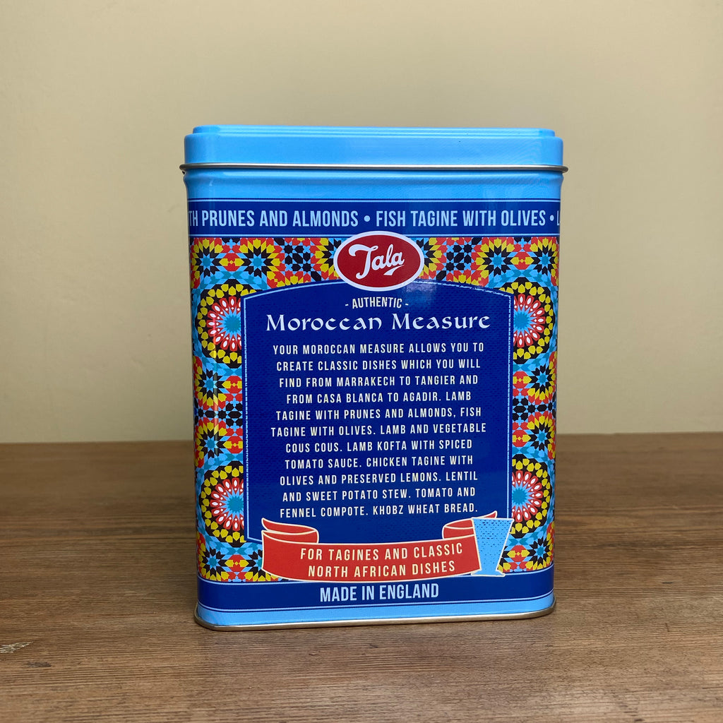 Tala Blue Moroccan Measure