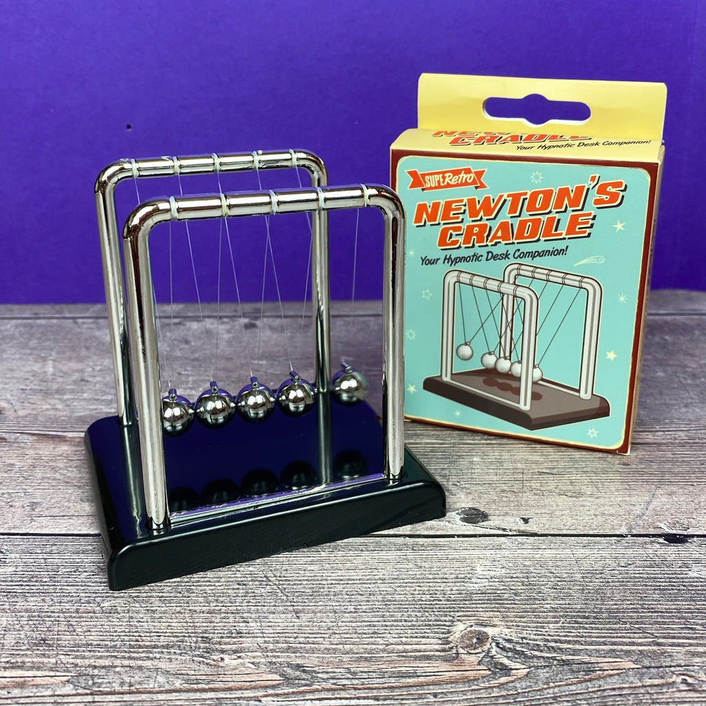 Retro Newton's Cradle